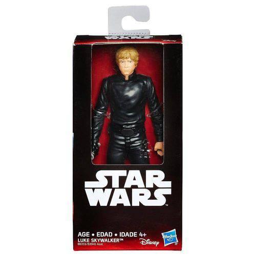Tudo sobre 'Boneco Hasbro Star Wars Luke Skywalker B6333'