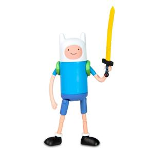Boneco Hora de Aventura 13cm Finn - Multikids