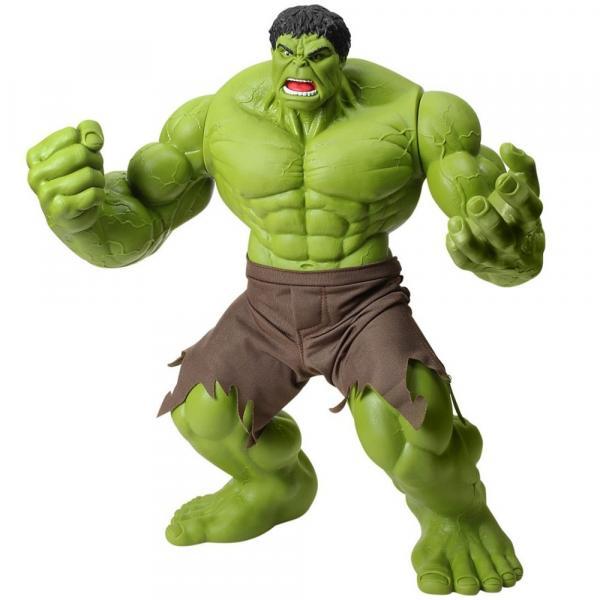 Tudo sobre 'Boneco Hulk Verde Premium 55 Cm Marvel Gigante Mimo'