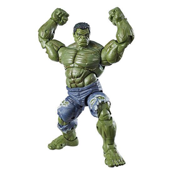 Tudo sobre 'Boneco Legends Séries 30 Cm Hasbro - Marvel - Hulk'