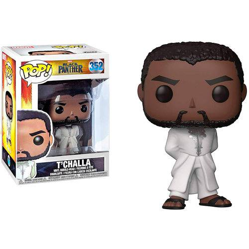 Boneco Pop Black Panther T'challa 352