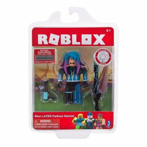 Tudo sobre 'Boneco Roblox Blue Lazer Parkour Runner - Fun Divirta-se'