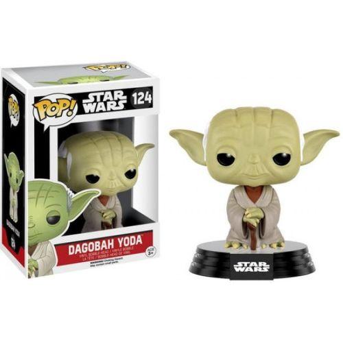 Boneco Star Wars Dagobah Yoda Pop Funko 124 - Suika