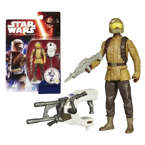 Boneco Star Wars o Despertar da Força Soldado Resistência Hasbro