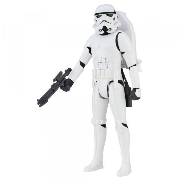 Boneco Star Wars Stormtrooper Interactech Hasbro Branco