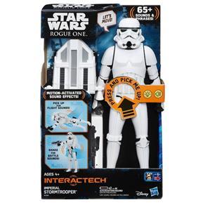 Boneco Stormtrooper Eletrônico Titan Interact - Hasbro B7098