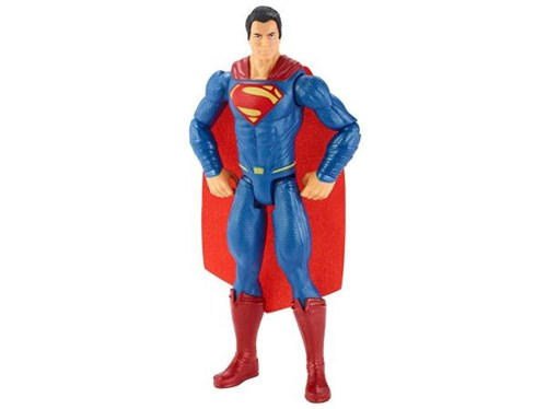 Boneco Superman Batman X Superman 31cm - Mattel