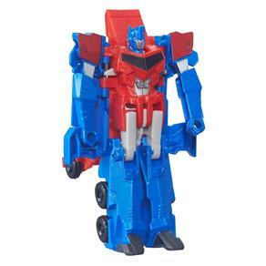 Boneco Transformável - 15 Cm - Transformers Robots In Disguise - One Step - Optimus Prime - Hasbro