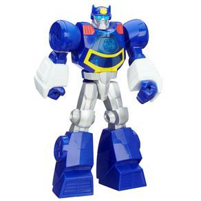 Boneco Transformers Hasbro Rescue Playskool - Chase The Police
