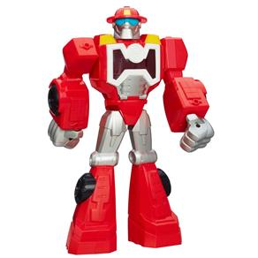 Boneco Transformers Hasbro Rescue Playskool - Heatwave The Fire