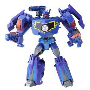 Boneco Transformers Hasbro Robots In Disguise Combiner Force - Soundwave