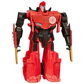 Boneco Transformers Robots In Disguise 1-Step Changers Sideswipe