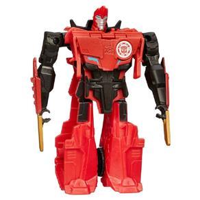 Boneco Transformers Robots In Disguise One Step - Sideswipe Vermelho B0901