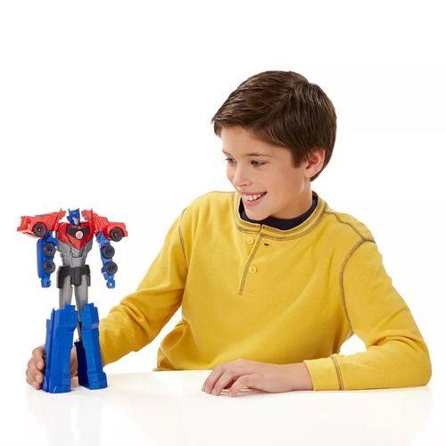 Boneco Transformers - Titan Changers - Robots In Disguise - Optimus Prime - Hasbro