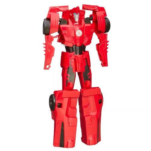 Boneco Transformers - Titan Changers - Robots In Disguise - Sideswipe - Hasbro