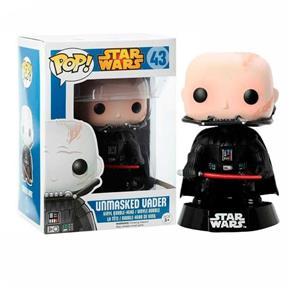 Boneco Unmasked Vader Star Wars - Funko Pop