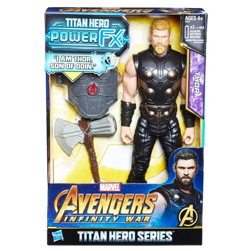Boneco - Vingadores - Guerra Infinita - Power Pack - Thor