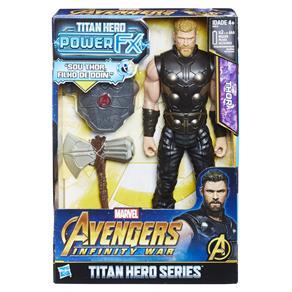Boneco Vingadores Hasbro Titan Hero Power FX - Thor