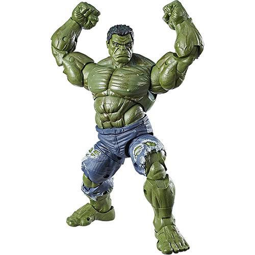"""Tudo sobre 'Boneco Vingadores Hulk 12"""" - Hasbro'"""