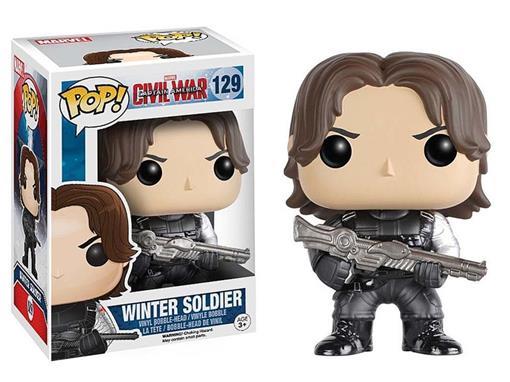 Tudo sobre 'Boneco Winter Soldier Pop! Marvel 129 Funko - Minimundi.com.br'