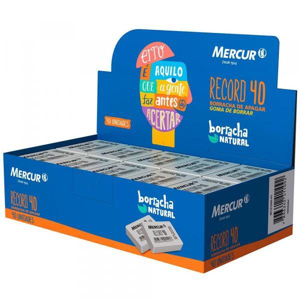 Borracha Mercur Record 40 Branca 40x1 CX