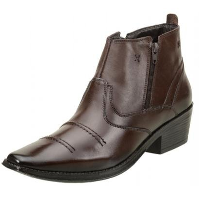 Bota ClaCle Coutry Couro Masculina