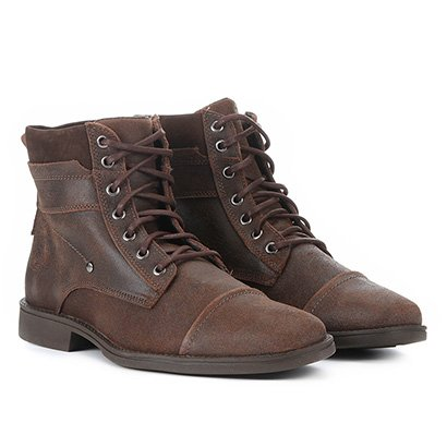 Bota Coturno Couro Walkabout Fort Masculina