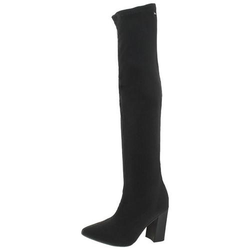 Tudo sobre 'Bota Feminina Over Knee Preta Dakota - B9652'