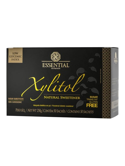 Box Adoçante em Pó Xylitol Essential Nutrition 250g