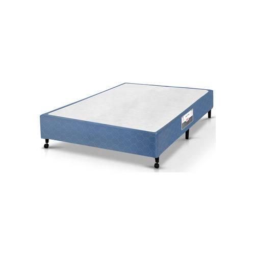 Tudo sobre 'Box Casal 138X188X27 Poli Azul Castor'