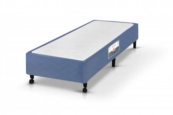 Box Castor SI Solteiro Poli Azul 078x188x27