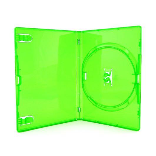 Tudo sobre 'Box DVD Amaray Red Tag Verde 1 Unidade'