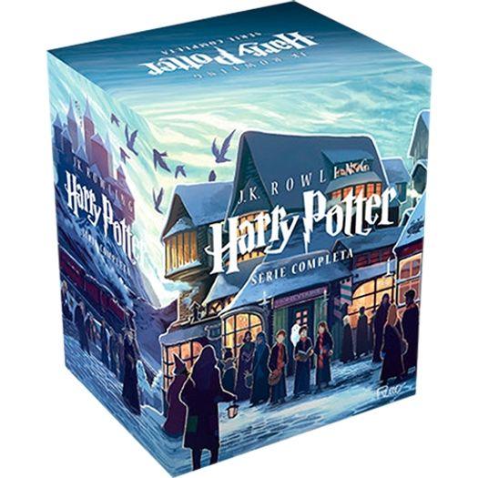 Tudo sobre 'Box Harry Potter - Serie Completa - Rocco'