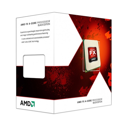 Box Processador Fx-4300 Black Edition 3.8ghz Am3 Amd