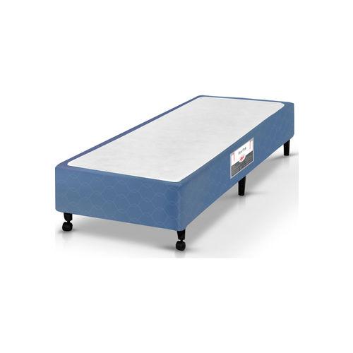 Box Solteiro 78X188X27 Poli Azul Castor