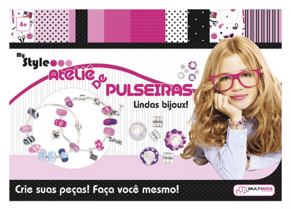 Br019 My Style Ateliê de Pulseiras - Multikids