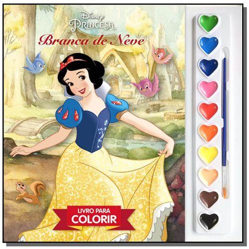Branca de Neve - Livro para Colorir