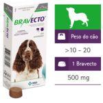 Tudo sobre 'Bravecto 500mg (10-20kg)'