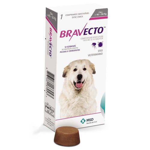 Tudo sobre 'Bravecto Comprimido para Cães de 40 a 56kg - MSD 40 - 56 Kg'