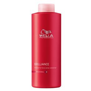 Brilliance Wella - Shampoo para Cabelos Coloridos - 1L