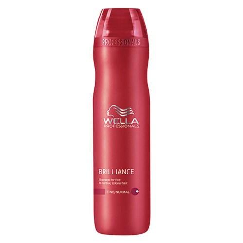 Brilliance Wella - Shampoo Para Cabelos Coloridos 250ml