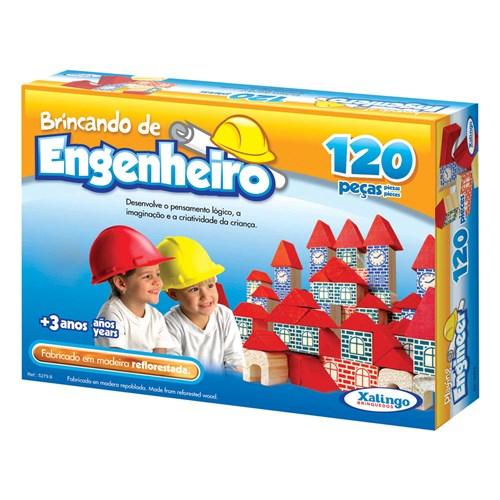 Brincando de Engenheiro 120 Pecas - Xalingo