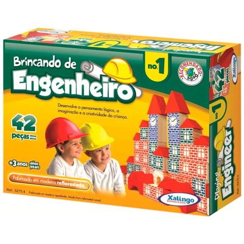 Brincando de Engenheiro 42 Peças - Xalingo