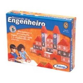 Brincando de Engenheiro 53 Pecas 52765 Xalingo