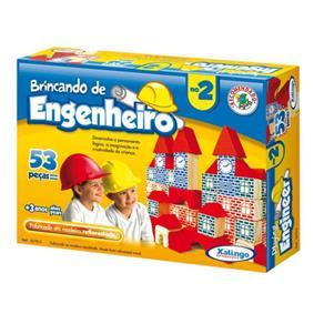 Brincando de Engenheiro 2 - 53 Peças - Xalingo