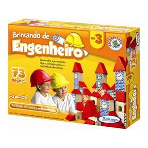 Brincando de Engenheiro 73 Peças - Xalingo