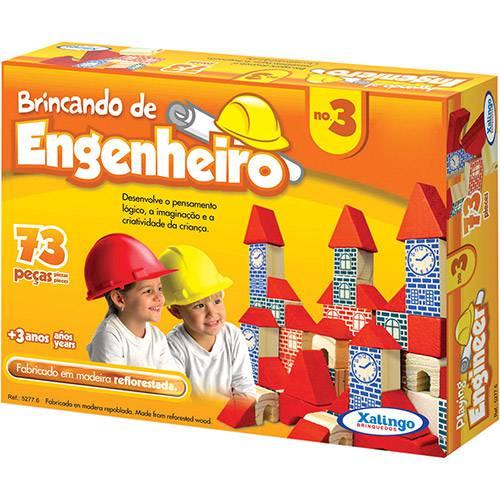 Brincando de Engenheiro 3 - Madeira - Xalingo