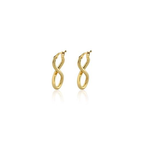 Brinco Argola Ouro Amarelo 18K - Hoops