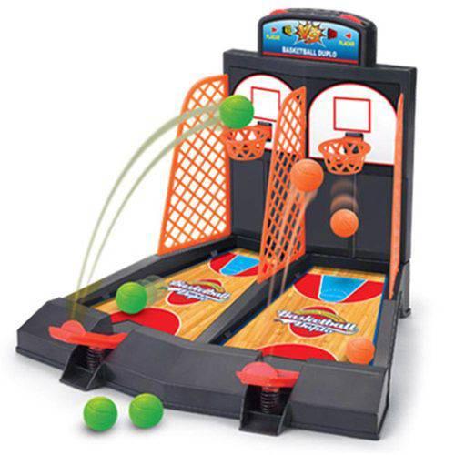 Tudo sobre 'Brinquedo Basketball Duplo 0702 - Braskit'