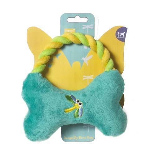 Brinquedo de Pelúcia Osso e Corda